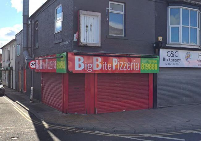 The Big Bite Pizzeria on Linthorpe Road in Middlesbrough Picture: GOOGLE