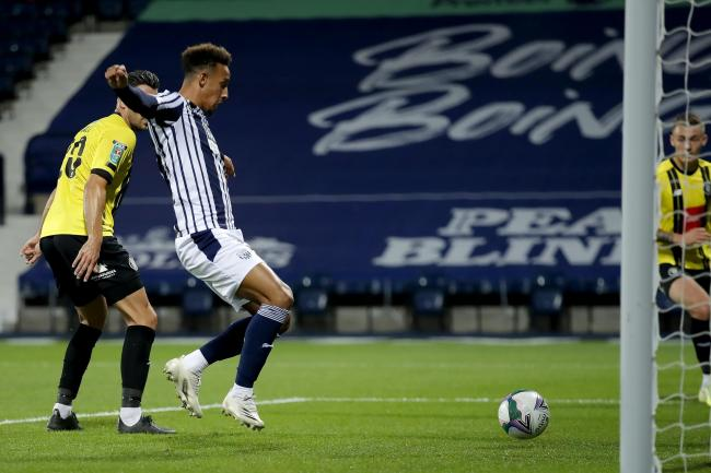Callum Robinson scored West Brom's third goal in their 3-0 win