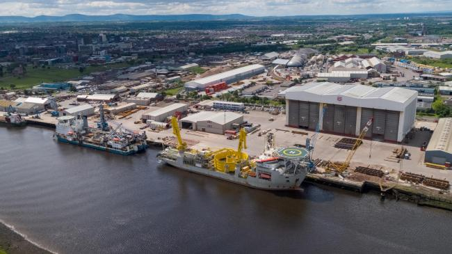 AV Dawson has named its new port facility Port of Middlesbrough