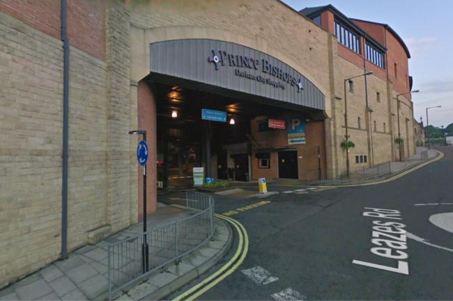 Prince Bishops Car Park in Durham Picture: GOOGLE