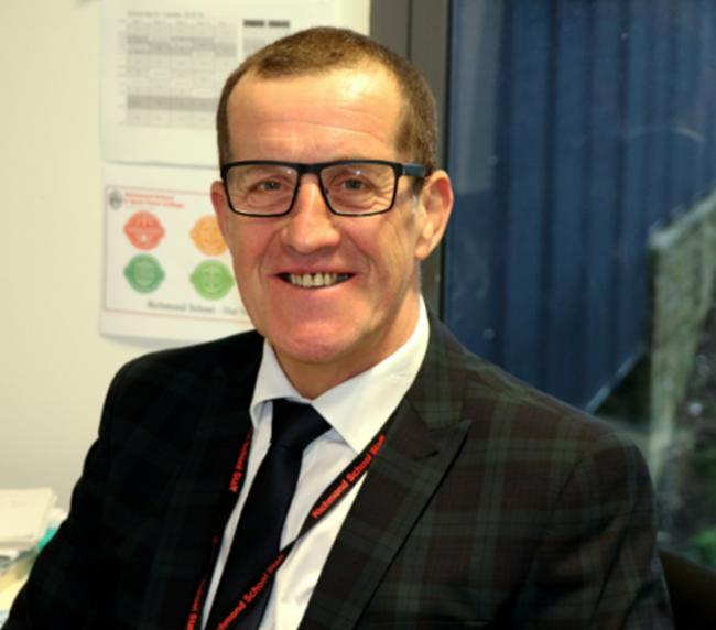 Dave Clark was the deputy head of Richmond School