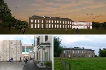 Approval for history centre at Durham's Mount Oswald Manor House