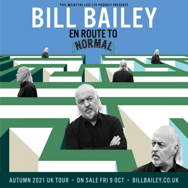 Bill Bailey's En Route to Normal show will come to Newcastle in 2021