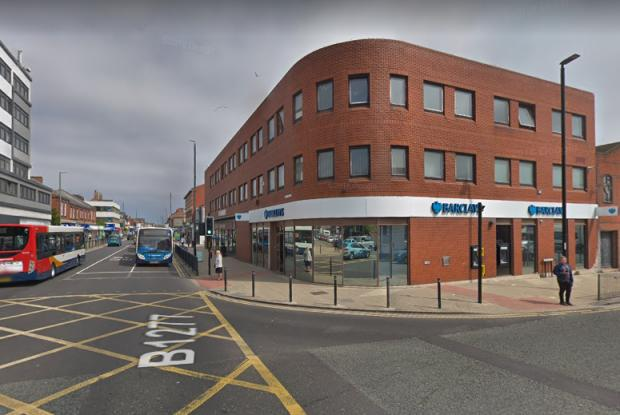 The Northern Echo: Barclays bank in Hartlepool. Picture: GOOGLE