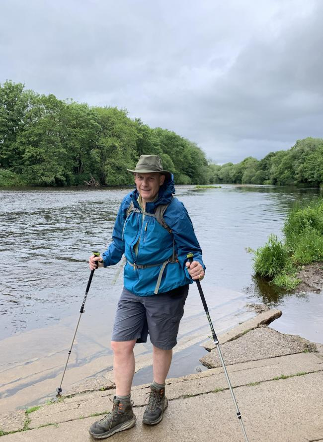 High Sheriff, David Gray, on his walking challenge to raise money for community groups