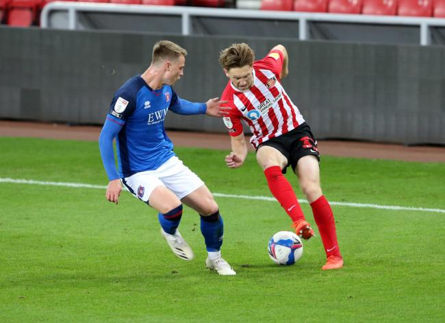 Sunderland's Denver Hume has been watching Sheffield United in action for tactical tips