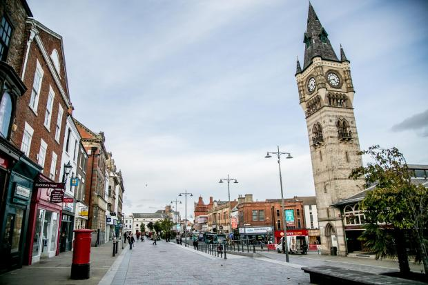The Northern Echo: Darlington town centre