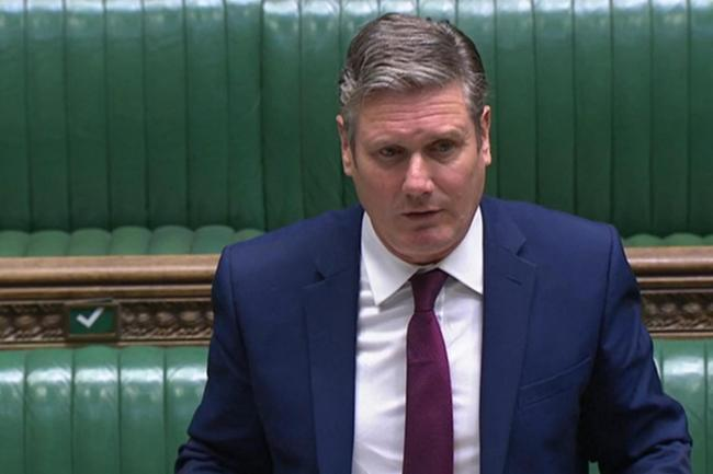 Labour leader Sir Keir Starmer calls for 'circuit breaker' to stem the spread of Covid-19  Picture: PA Wire