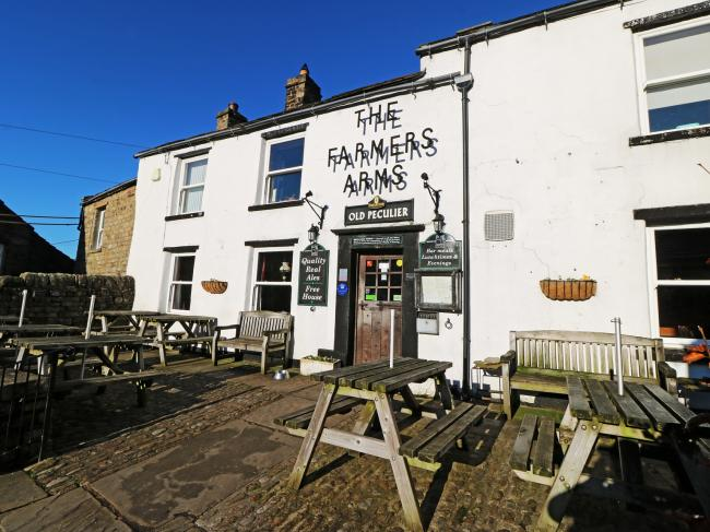 The Farmers Arms in Muker has been bought by former rugby league star Andy Gascoigne