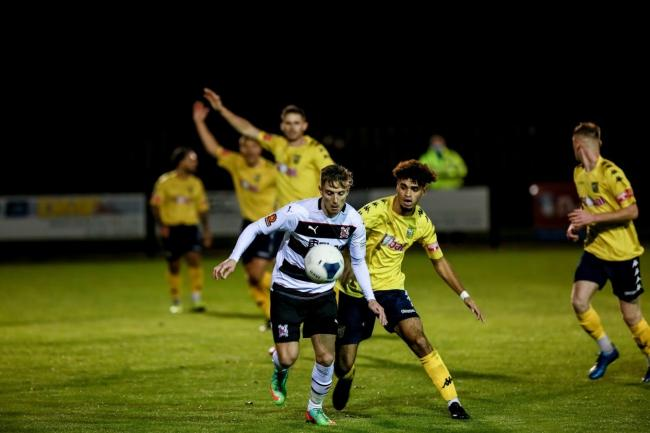 Darlington beat Tadcaster Albion in the FA Cup on Tuesday night