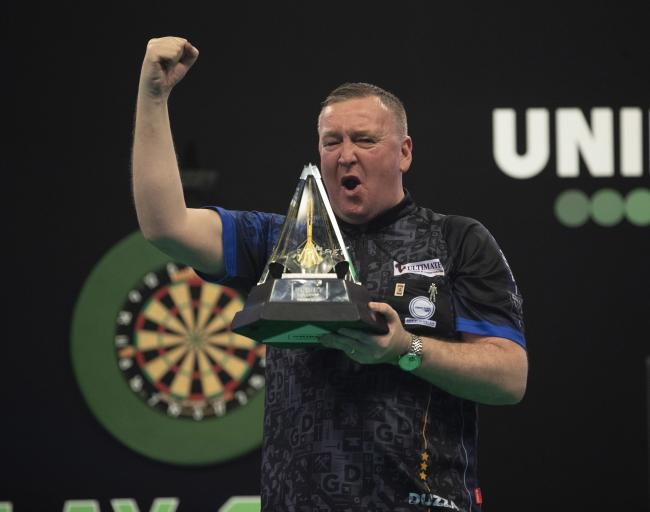 Glen Durrant was crowned Unibet Premier League Darts champion after beating Nathan Aspinall in the final at the Ricoh Arena