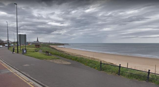 Emergency services called to an incident on Longsands Beach, Tynemouth, Picture: Google