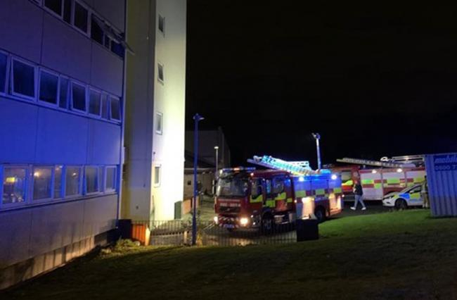 A man will appear in court charged with arson following a fire at a Gateshead block of flats