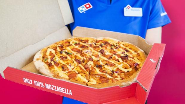 The Northern Echo: Picture: Domino's Pizza/PA Wire