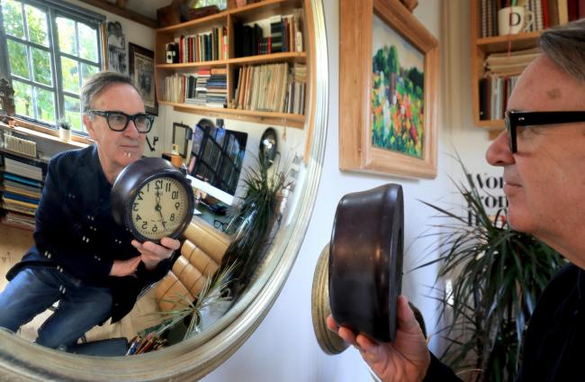Chris Difford, a founding member of the band Squeeze, who is calling for the clocks not to go back this weekend, as the UK faces the double bind of increasing coronavirus restrictions and shortening days.