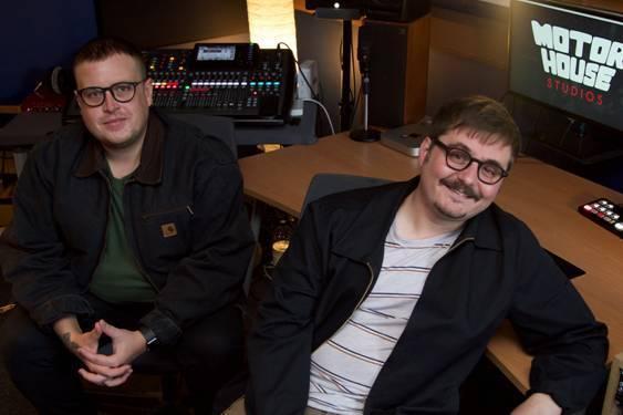 Jack Wade and Jordan Miller of Motorhouse Studio