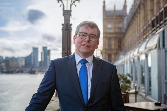 Darlington MP Peter Gibson