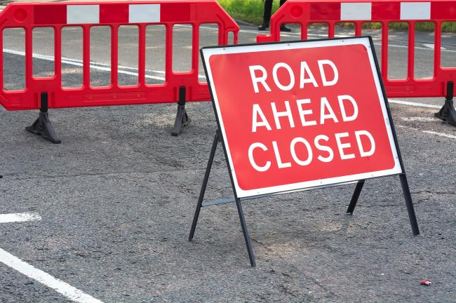 Eastbound carriageway of the A66 at Newport Interchange will be closed from tomorrow