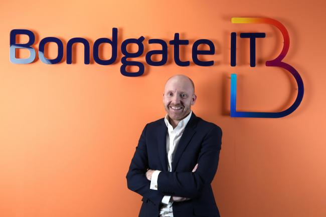 Garry Brown, the managing director of Darlington based Bondgate IT Picture CHRIS BOOTH