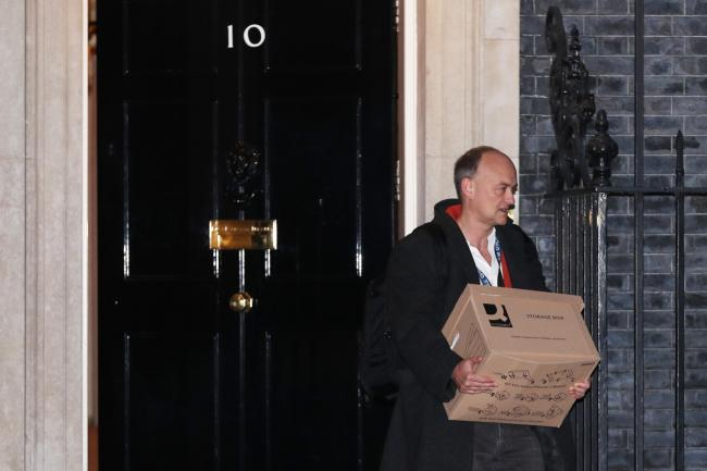 Dominic Cummings leaves Downing Street with immediate effect  The Northern  Echo