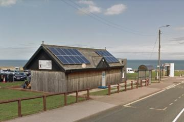 Seaham cafe revamp with ice cream kiosk and bike store