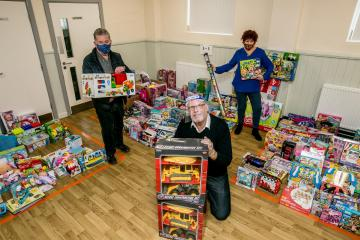 Consett's Salvation Army appeals for toy donations