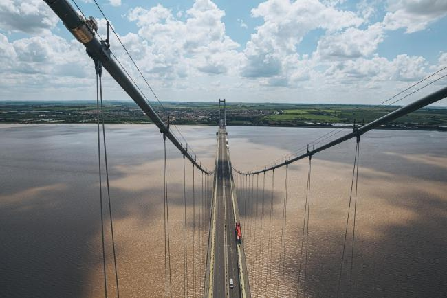 Cleveland Bridge UK was highly commended for its Humber Bridge suspension cable