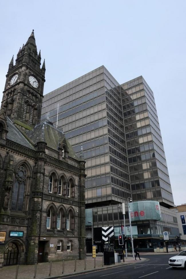 Middlesbrough Council offices where developers have expressed interest in converting to housing