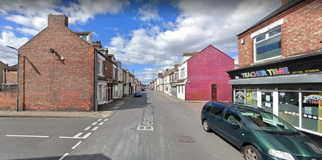 Beaumont Road in Middlesbrough. Picture: GOOGLE