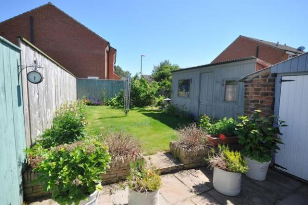 The Northern Echo: The property's garden (Photo: Zoopla)