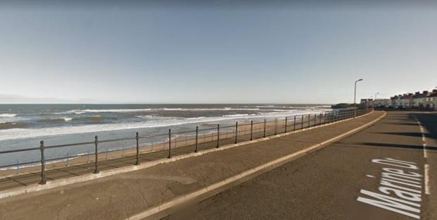 The Northern Echo: Houses line Hartlepool coastline