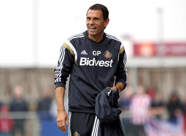 Gus Poyet is being considered for a managerial return at Sunderland following the dramatic departure of manager Phil Parkinson