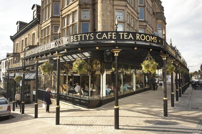Undated Handout Photo of Bettys Cafe Tea Room in Harrogate, Yorkshire. See PA Feature FOOD Bucket List. Picture credit should read: PA Photo/Handout. WARNING: This picture must only be used to accompany PA Feature FOOD Bucket List..