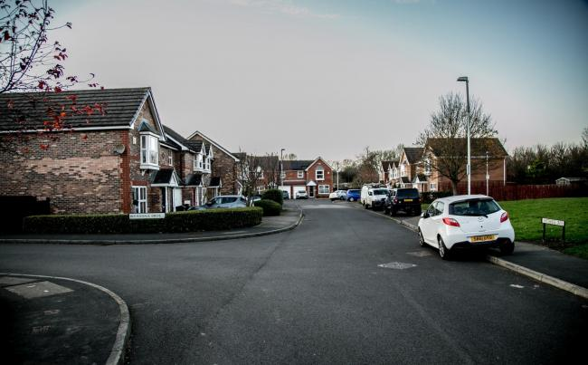 Residents on Berriedale Drive are worried over the potential traffic issues if the Skerningham Garden Village goes ahead  Picture: SARAH CALDECOTT