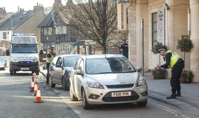 North Yorkshire Police carrying out Covid stop checks earlier this year