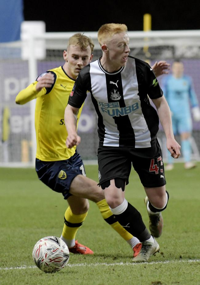 Newcastle's Matty Longstaff is attracting interest from Championship clubs ahead of next month's transfer window