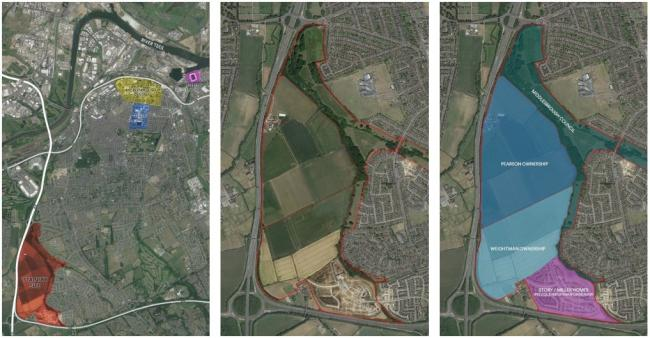 Stainsby Masterplan west Middlesbrough. Picture: Gradon Architecture.