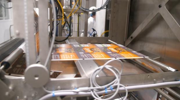 The Northern Echo: Inside Quorn's factory. Picture: QUORN