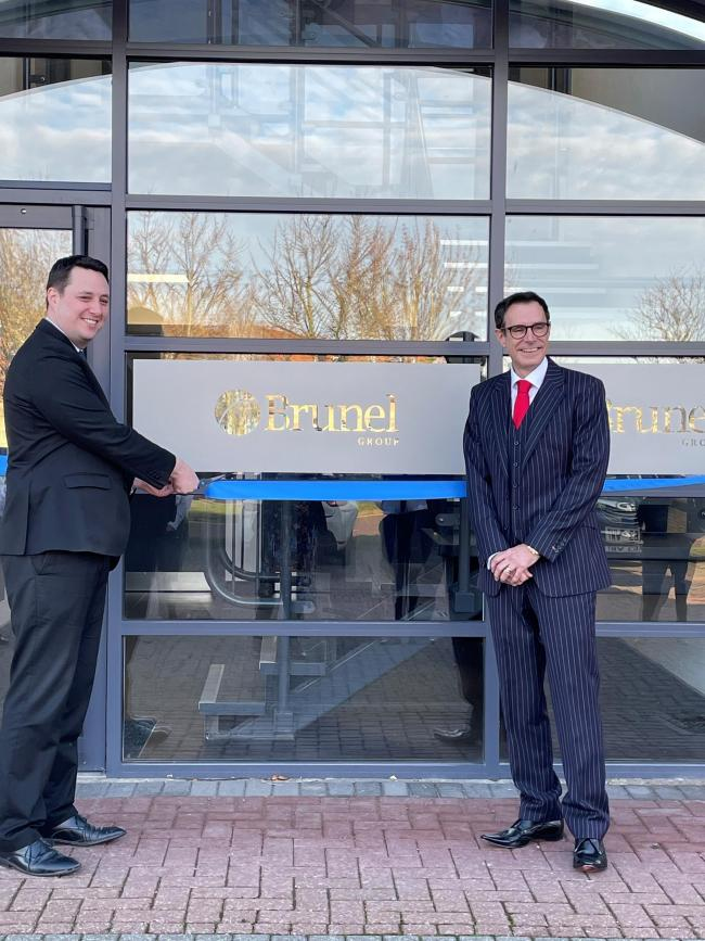 The Brunel Group has opened its new office in Stockton