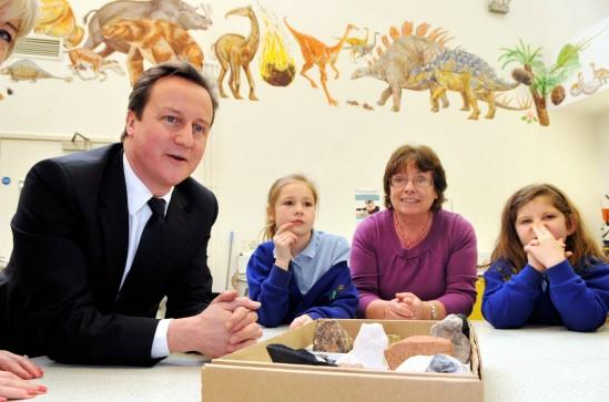 The Northern Echo: Prime Minister David Cameron visited the Centre for Life in Newcastle Picture: PAUL KINGSTON