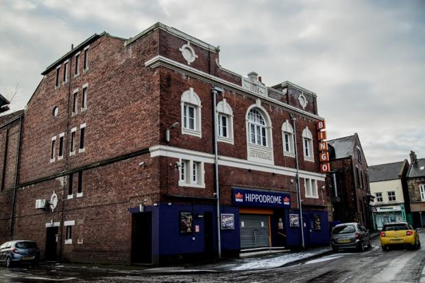 The Northern Echo: The Hippodrome building, in Bishop Auckland, closed during the third lockdown Picture: SARAH CALDECOTT