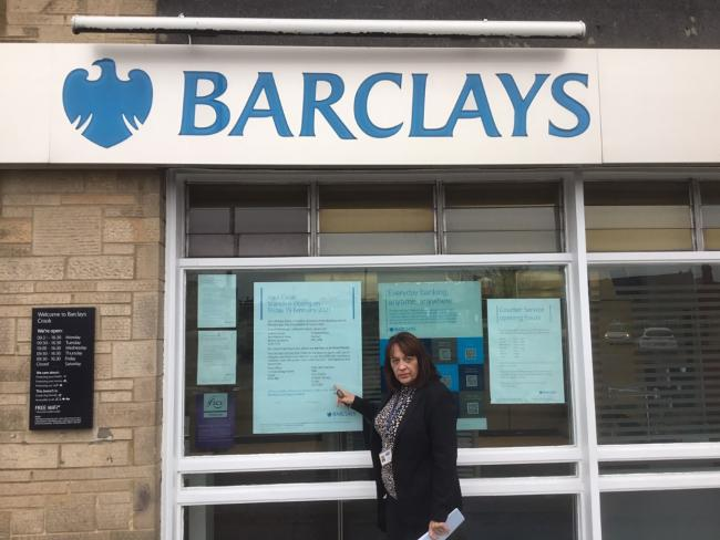 Talks to find a solution to town's Barclays bank closure
