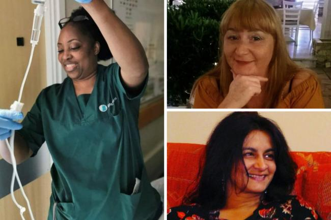 Remembering NHS staff who died after contracting Covid Pictures: PA