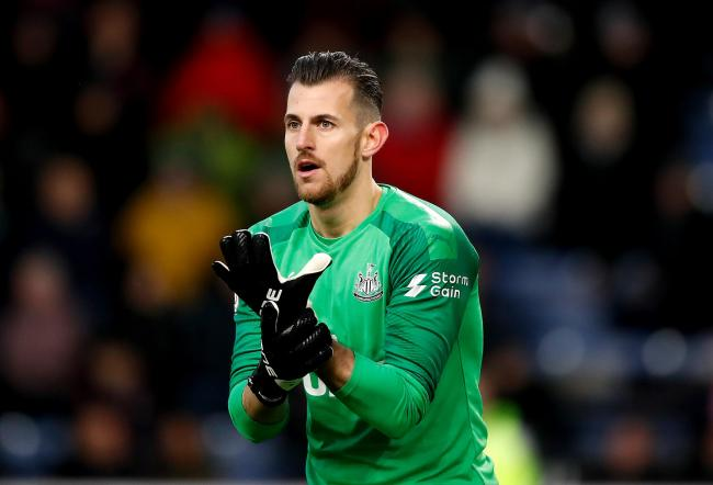 Martin Dubravka will make his first start of the season when Newcastle United take on Arsenal in the FA Cup third round