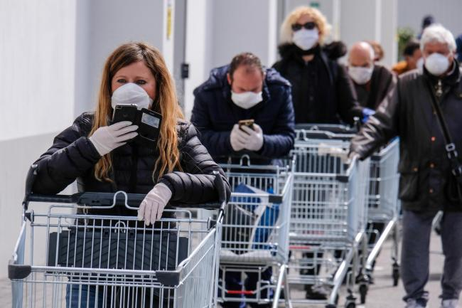 Aldi, Asda, Morrisons, Sainsbury's and Tesco - the UK's five biggest supermarkets - have made face masks mandatory for shoppers. Photo: PA