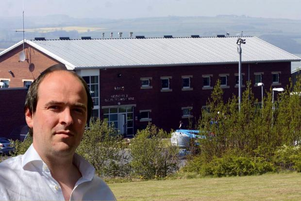 North West Durham MP Richard Holden has defended the use of the former Hassockfield Training Centre as a prison-style camp for illegal immigrants