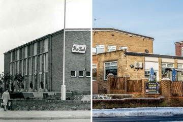Slide these pictures across to see Newton Aycliffe THEN and NOW
