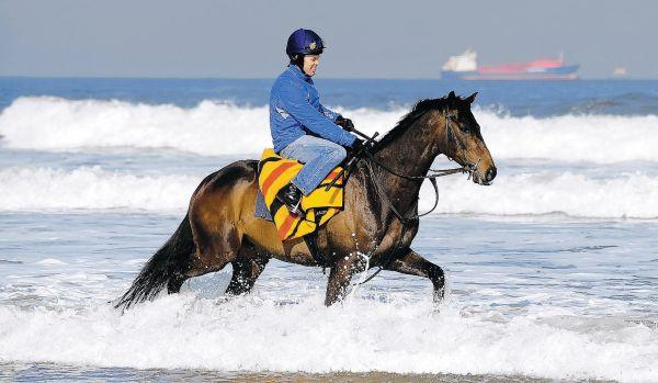 The Northern Echo: Redcar beach, which has been assessed as having excellent water quality