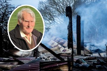 Fire at Wheatley Hill father's property a DAY after his forklift funeral