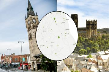 Mapped: How many people have died from Covid in your North-East area?